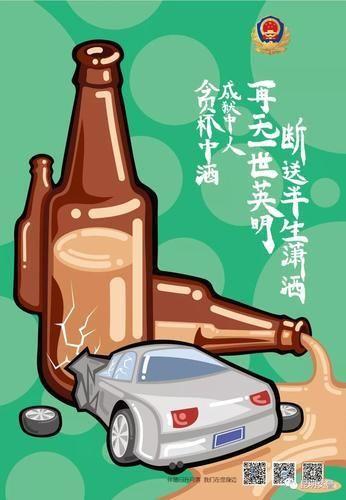 酒驾海报1